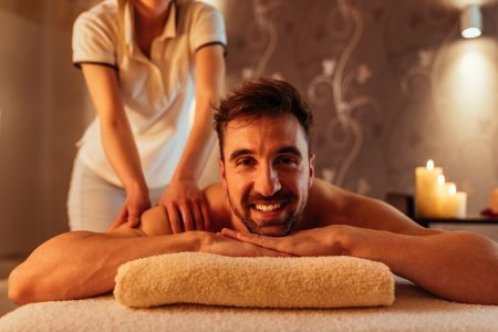 Massage day is my favorite day of the week